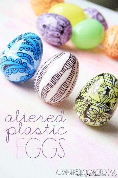 Die Besten 25 DIY Decorate Plastic Easter Eggs Ideen Auf