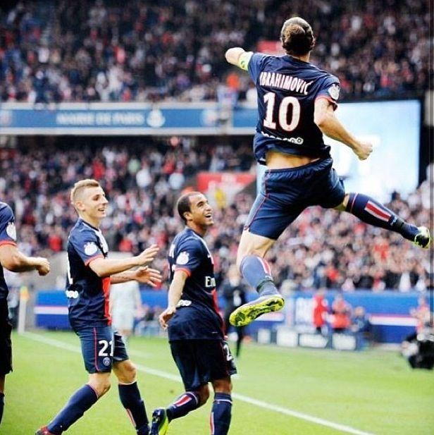 PSG - Zlatan Ibrahimovic