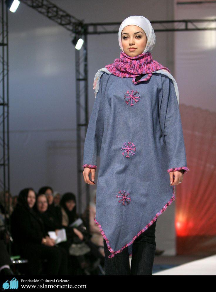 Mujer musulmana y desfile de moda - 14 | Galería de Arte Islámico y Fotografía