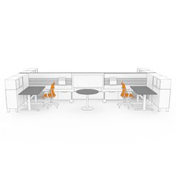 Enclosed Office - District Furniture by Teknion