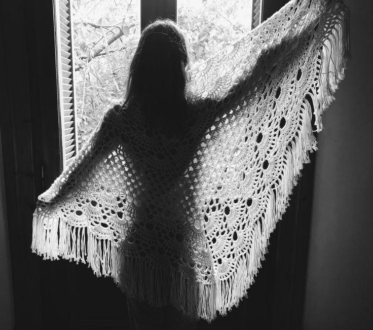Chal Boho Chic Crochet @crochetiereknits