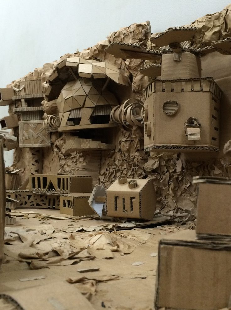 Bunker - Tomorrow Land #tekomars #cardboard