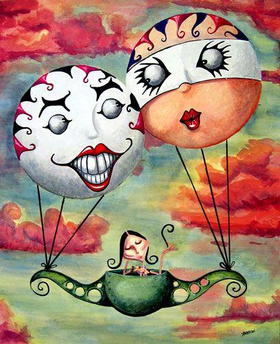 Philiparts trip by ~fabriniBeholder Art, Hot Air, Art Appreciation, Art Prints, Art Miscellaneous, Air Balloons, Deviantart Favourite, Balloons Abundance, Art Vary