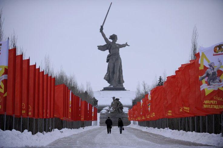 Mutter-Heimat-Statue, Wolgograd