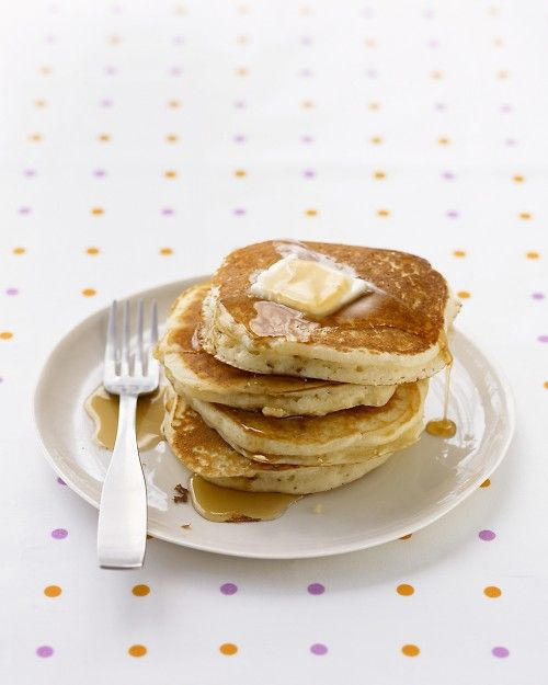 Best Basic Pancakes  ** Best with homemade whip cream   @Alix Van Buskirk and I made these and they were soo good!