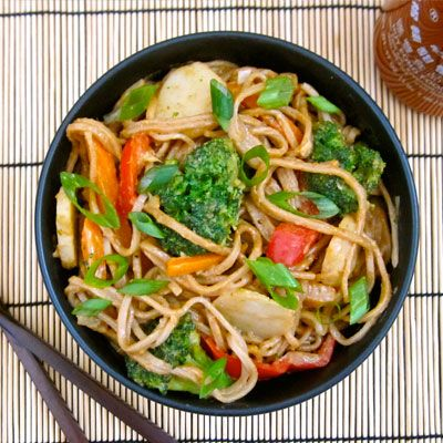 6 Stir-Fry Recipes Better than Takeout: Soba Stir, Few Ingredients, Stir Fried Recipe, Soba Noodles, Peanut Butter, Recipe Better, Stirfri, Stir Fry, Peanut Soba