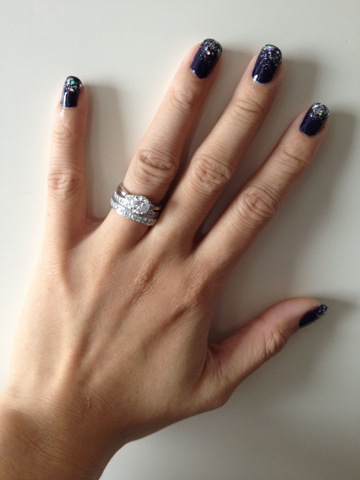 43 Best Happy New Year Nail Designs Images On Pinterest New Year S Nails Christmas Nails And