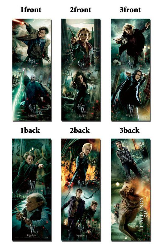 Harry Potter Bookmarks Printable | Harry Potter Printable ...