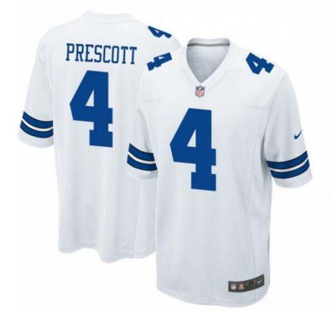 JOE Dak Prescott Dallas Cowboys Game Jersey - white