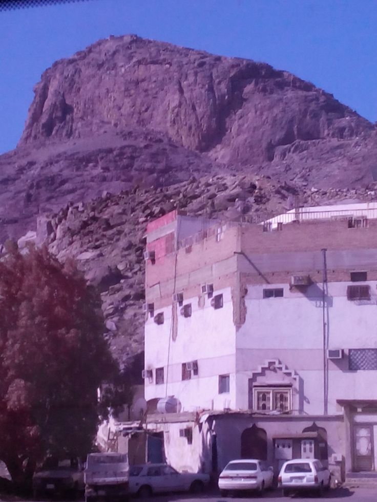Hira Cave, one place of Prophet Mohammad SAW had his first Iqra