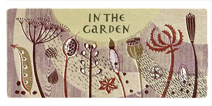 August Gardens Illustrated illustration