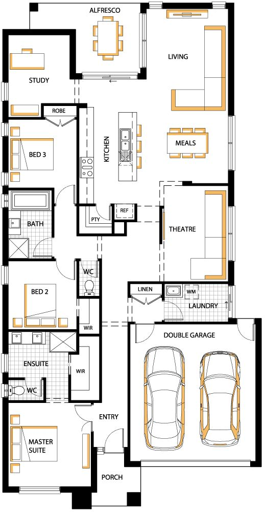 floorplan 24 Addison Carlisle homes