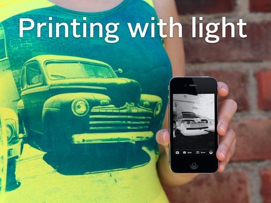 Print on Fabric Using Sunlight: The Lumi Process by Lumi, via Kickstarter.