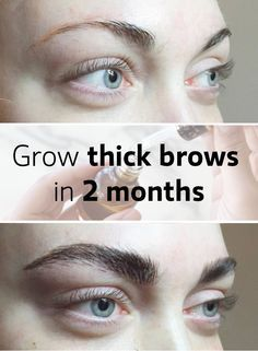 Best Haireyebrows And Eyelashes Growth Images On Pinterest - Get thicker eye brows naturally eyebrow growing tips