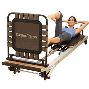 Stotts Pilates reformer with cardio tramp - this will get your heart pumping, and it's a FUN workout!