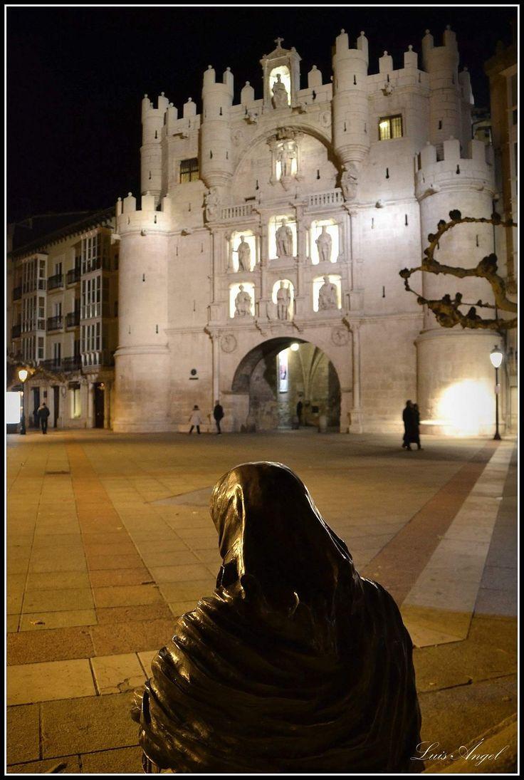 Arco de Santa María Museum in Burgos - Castile and León, Spain
