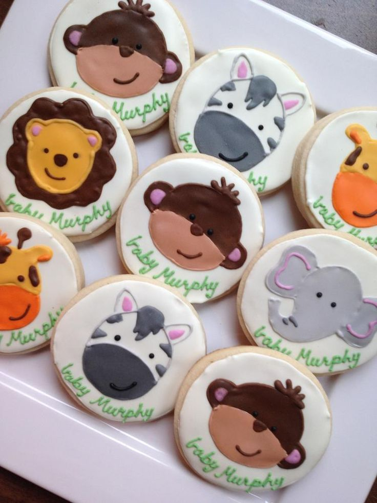 Jungle Animals Cookie Connection Cookies In 2019
