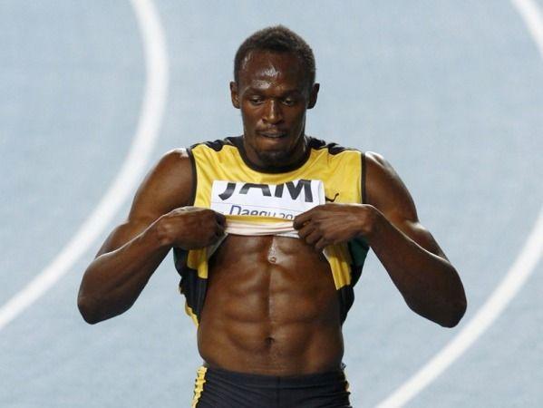 「ウサインボルト 筋肉」の画像検索結果