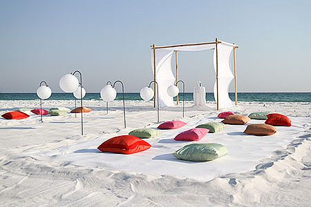Alternate Seating for Beach Ceremony!!!! :  wedding ceremony seating Ideas9
