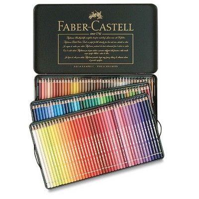 Faber-Castell pastelky Polychromos 120 Ks 110011