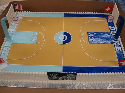 Carolina vs. Duke Basketball court by hainesbarksdale, via Flickr