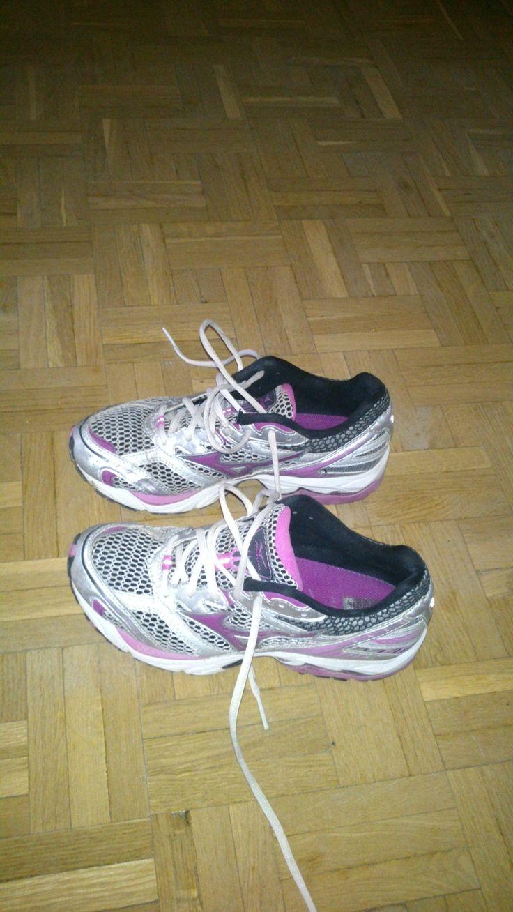 Unas zapatillas listas para salir a correr