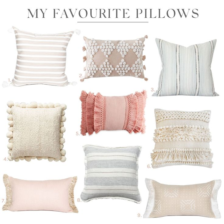 9 Dreamy Pillows for Any Space
