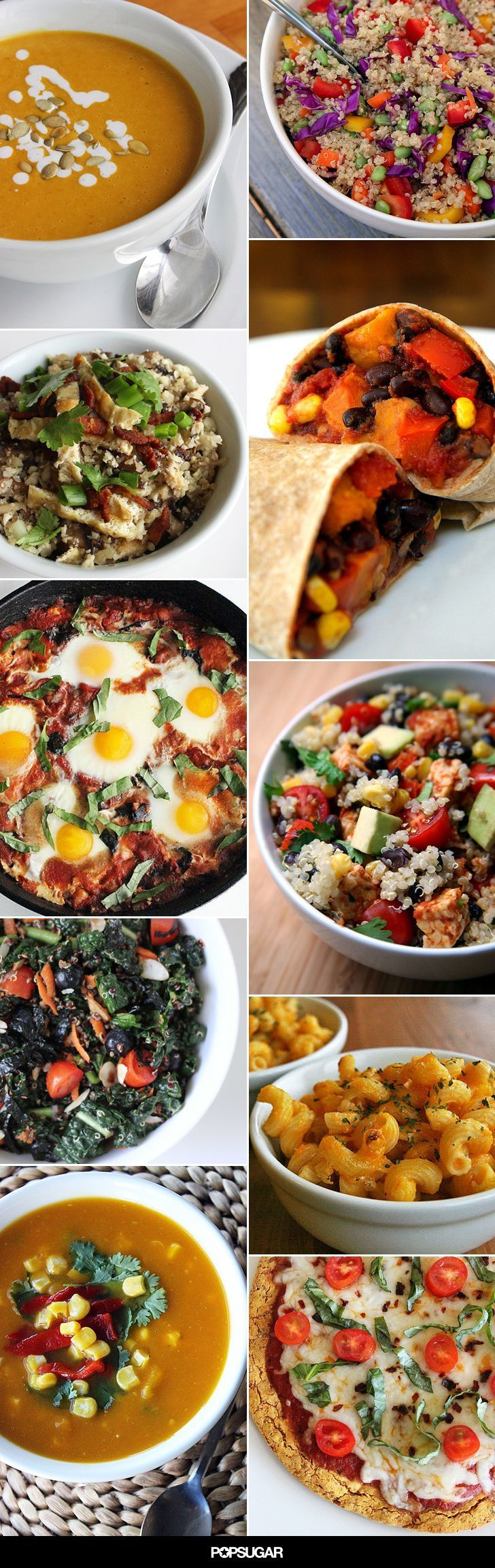 Don't stay stuck in that healthy dinner rut one more night. These 75 recipes will satisfy your dietary preferences and your palate.