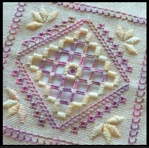 Hardanger stitch