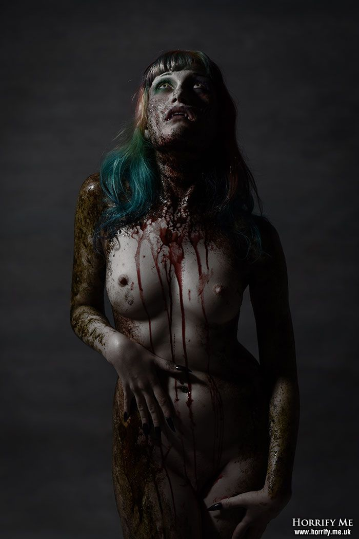 Erotic horror photography