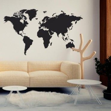 25 best ideas about stickers carte du monde sur pinterest stickers mappemonde planisph re du. Black Bedroom Furniture Sets. Home Design Ideas