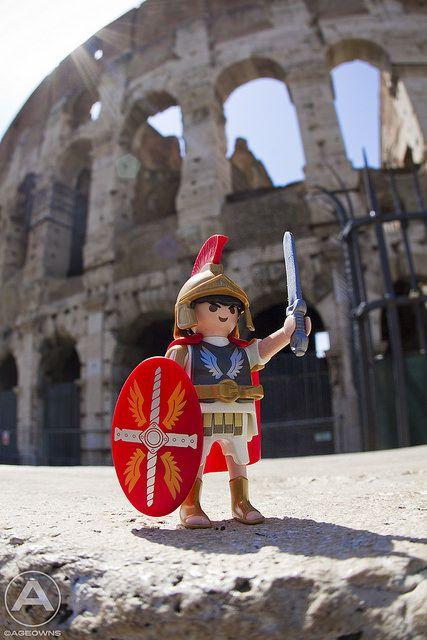 Roman Soldier - by AgeOwns - via Playmofriends Forum.