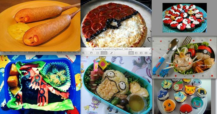 Themed Food Pokemon Pinterest Food