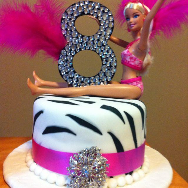 Diva party, diva birthday cake!