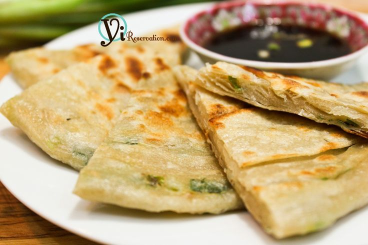 Scallion Pancakes (葱油餅) We eat these with a fried egg and bacon ...