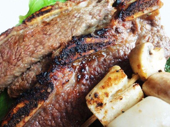 Authentic Korean Barbecue LA galbi Barbecue Short Ribs  galbidone Best recipe! Yum!