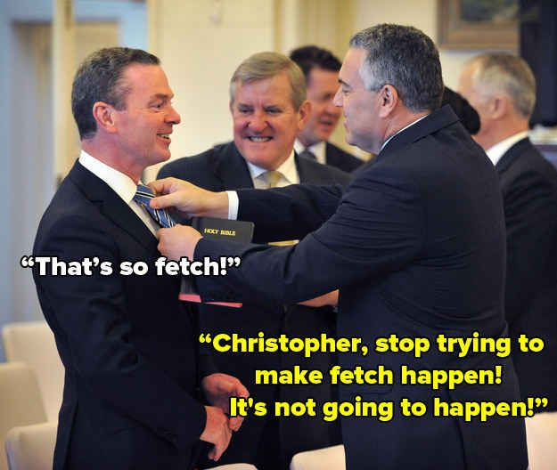 """Poor Pyne. 