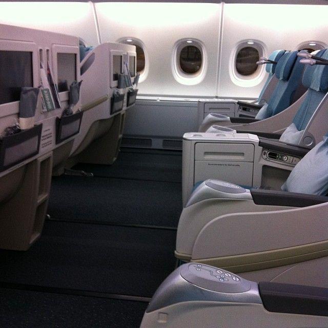 Airbus A380 Interior Private: Spacious A380 Prestige Class. #koreanair