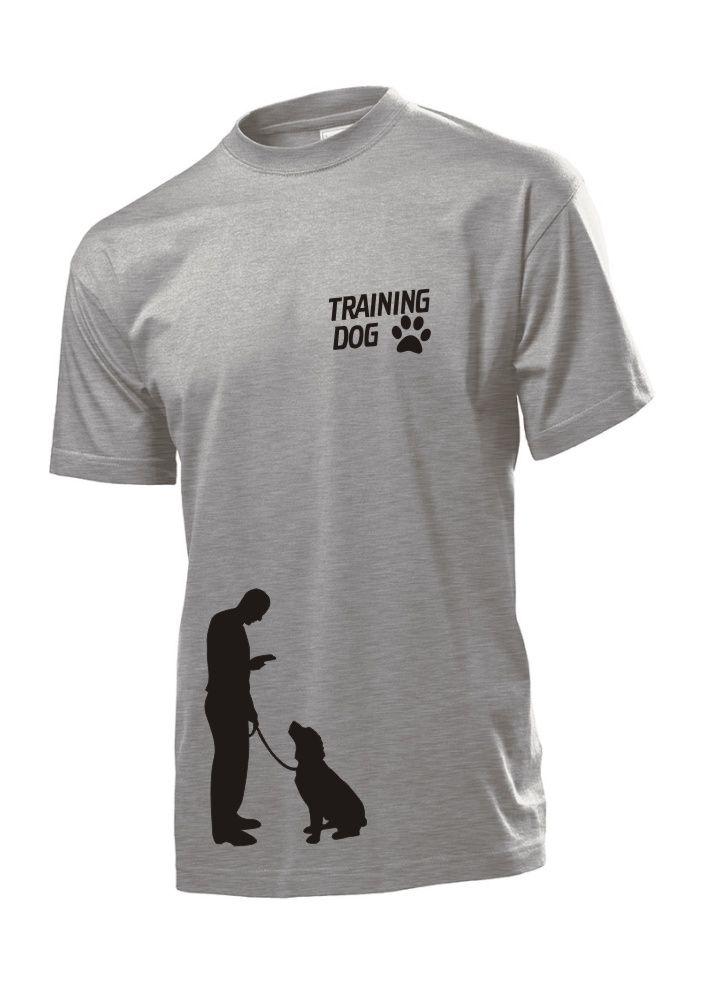 Tričko s potiskem Training dog