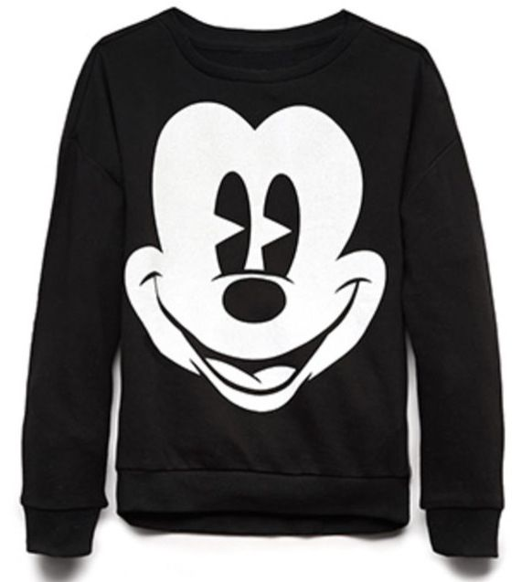 Mickey Mouse long sleeved shirt.