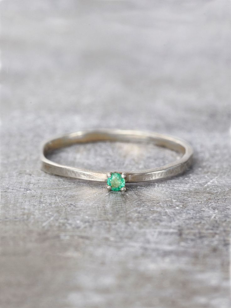 Emerald Wish Ring