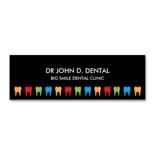 Dentist, dental business or profile card business card. This great business card design is available for customization. All text style, colors, sizes can be modified to fit your needs. Just click the image to learn more!