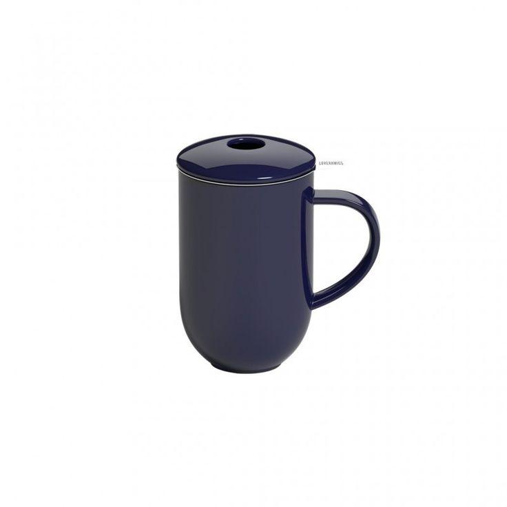 loveramics tea pro denim tea pot with infuser