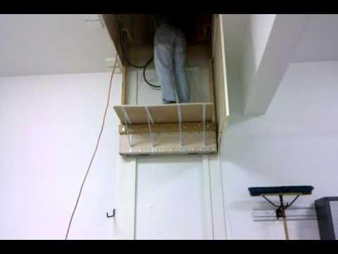25 best ideas about attic lift on pinterest garage lift for Garage attic lift elevator