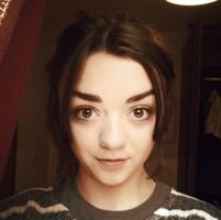 GoT **SPOILER** Season 3 Ep 9 - A little humor from Maisie Williams...I need a laugh after that episode...