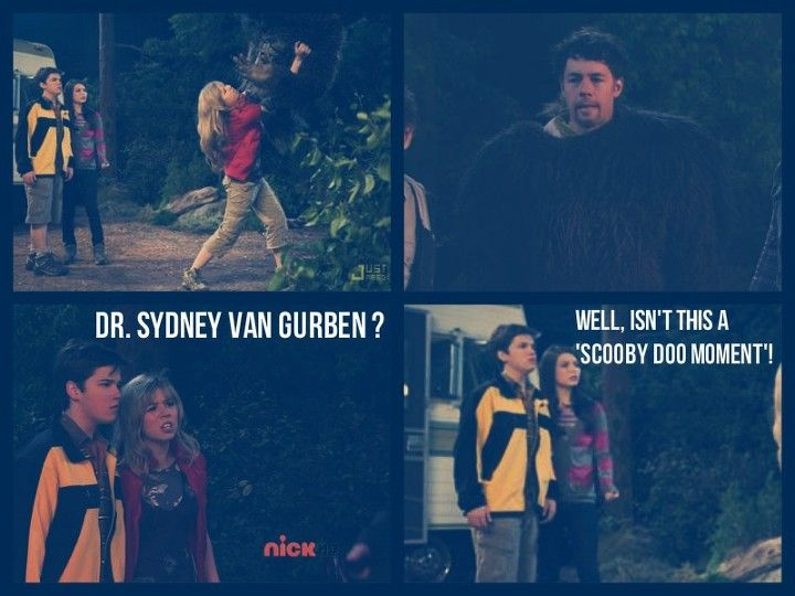 #iCarly #iBelieveinbigfoot