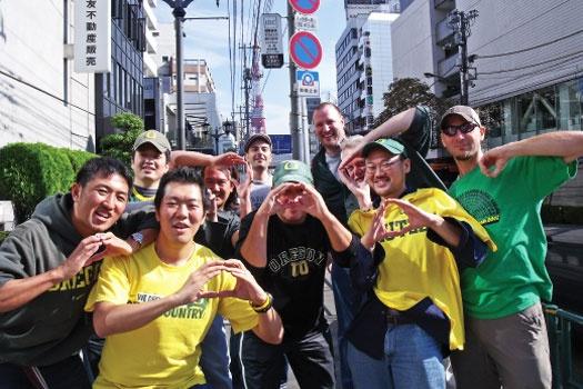 Ducks in Japan! Go ducks!  #nationalbrand