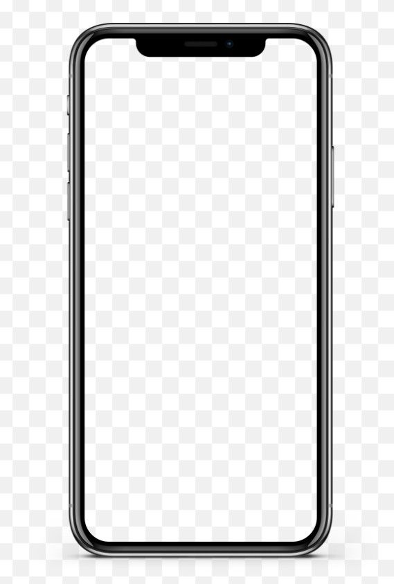 Download Iphone X Screen Mockup Transparent Png Ilustrasi Bisnis Bingkai Foto Manipulasi Foto