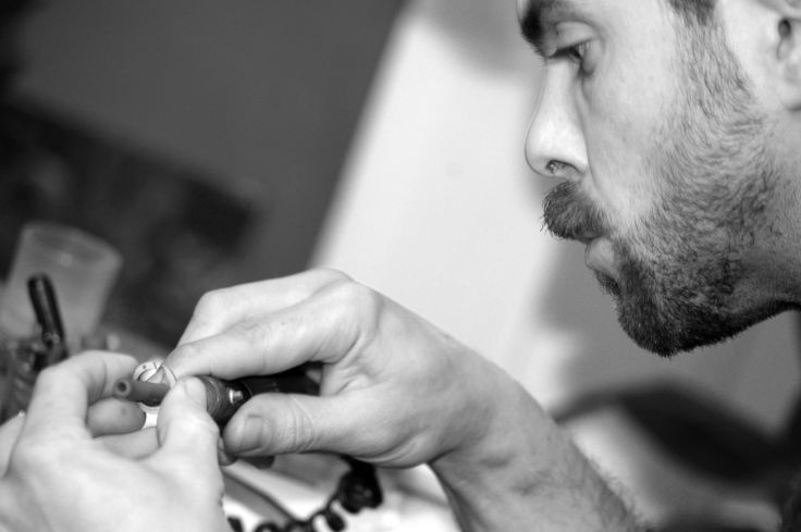 #bizsok #atelier #jewel #logo #exclusive #loudspeaker #manufactory #polishing #halaszelod