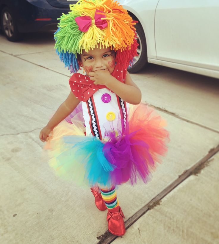 Clown costume toddler etsy wig colorful tutu freshly Picked moccasins best costume, clown, halloween, halloween costume, wig, toddler halloween costume, top 10